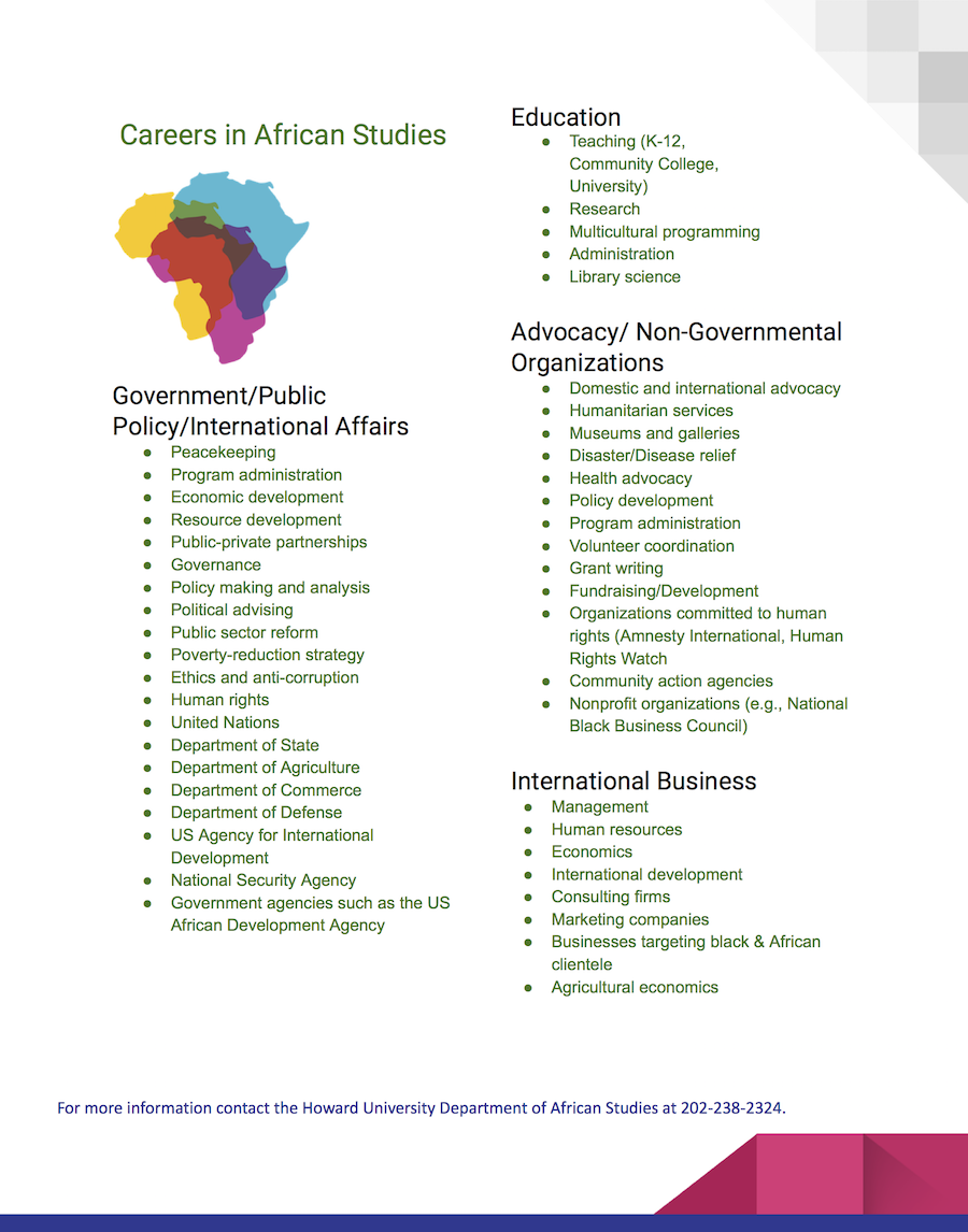 African Studies Careers Small